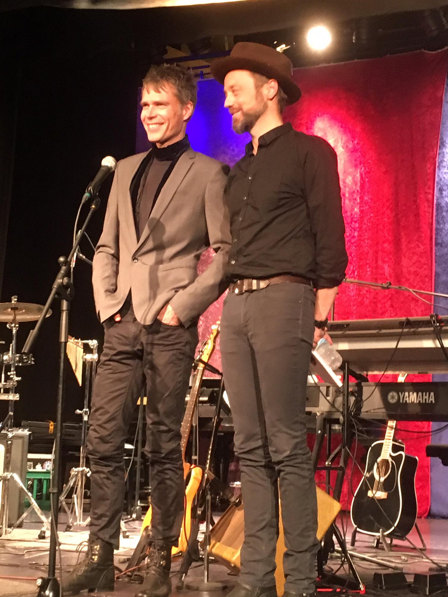 Rasmus Dissing og Las Nissen